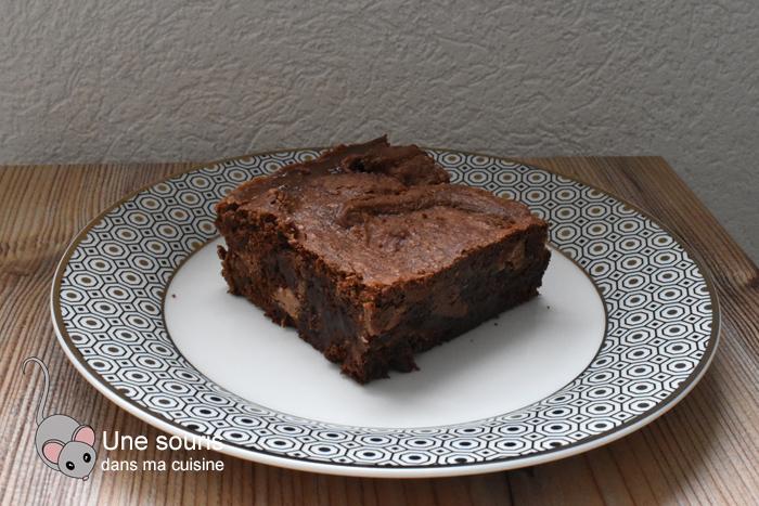 Brownie au restant de bonbons