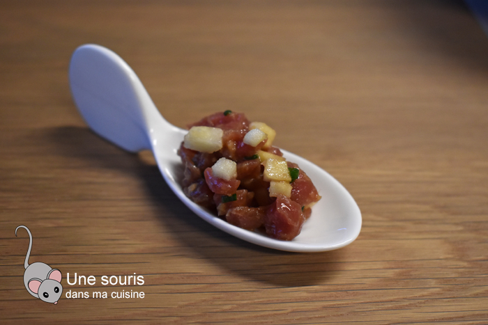 Tartare boeuf asiatique