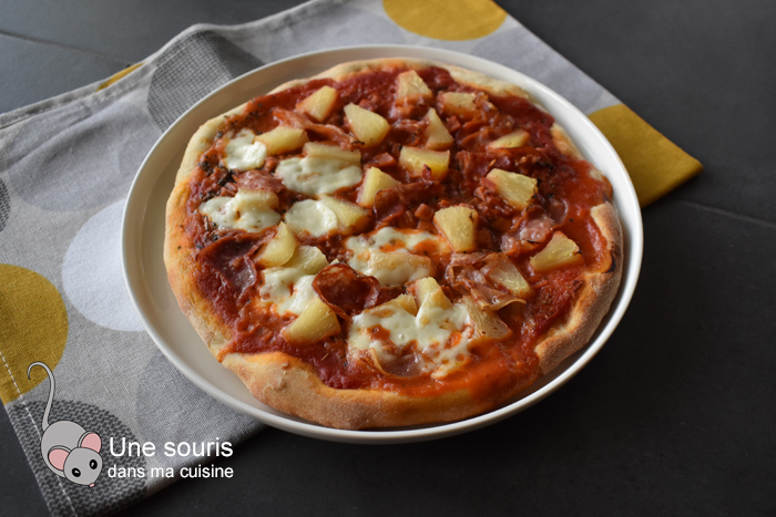 Merveilleuse pâte à pizza de Mirko