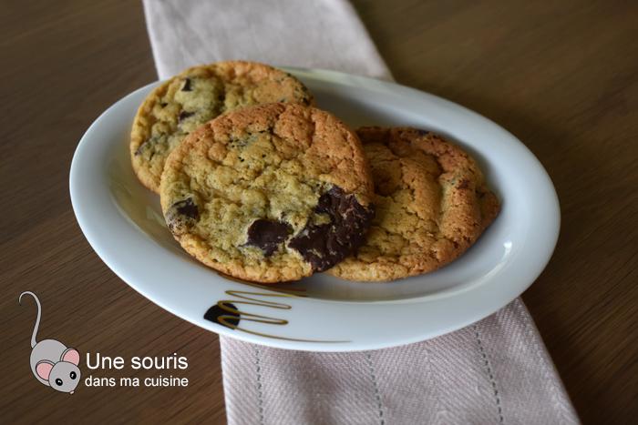 Biscuits aux pépites de chocolat aux 3 sucres