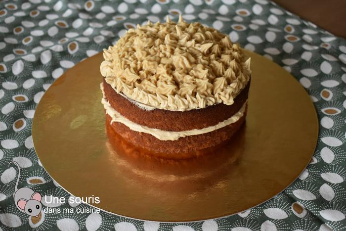 Gâteau à l'érable de Marilou