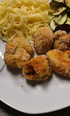 Pépites de poulet panés