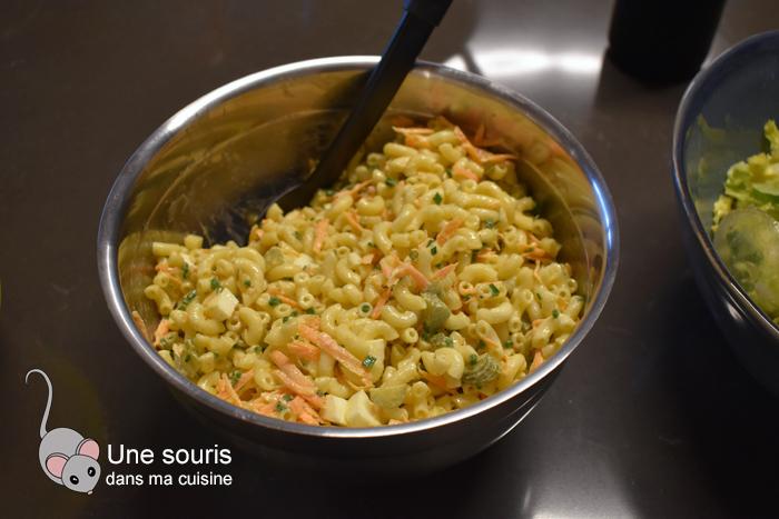 Salade de pâtes à personnalisée d'Eve Martel